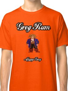 Monkey Island Grog Rum Classic T-Shirt