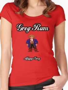 Monkey Island Grog Rum Women's Fitted Scoop T-Shirt