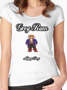 Monkey Island Grog Rum Women's Fitted Scoop T-Shirt