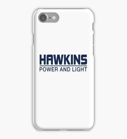 Hawkins Power and Light iPhone Case/Skin