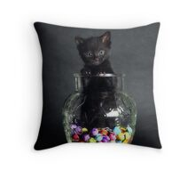 Kandy Kit Throw Pillow