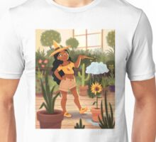 Bumble Bee Witch Unisex T-Shirt