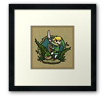 Legend of Zelda Wind Waker Forbidden Woods Temple T-Shirt Framed Print
