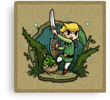 Legend of Zelda Wind Waker Forbidden Woods Temple T-Shirt Canvas Print