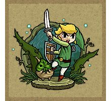 Legend of Zelda Wind Waker Forbidden Woods Temple T-Shirt Photographic Print