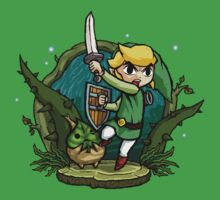 Legend of Zelda Wind Waker Forbidden Woods Temple T-Shirt by Purrdemonium