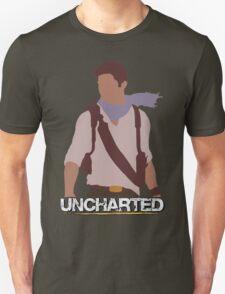 Uncharted - Minimalist Art Unisex T-Shirt