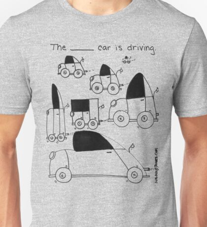 Describing Cars Unisex T-Shirt