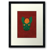 He Who Covetes the Winds Framed Print