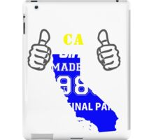 This California Girl Made in 1985 iPad Case/Skin