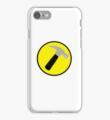 Captain Hammer logo iPhone Case/Skin