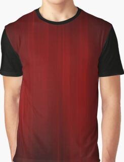 Shades of Dark Red Graphic T-Shirt