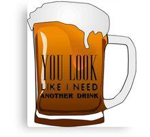 Funny Cool Flirting Pick Up Drunk Joking Design Canvas Print