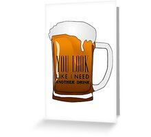 Funny Cool Flirting Pick Up Drunk Joking Design Greeting Card