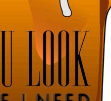 Funny Cool Flirting Pick Up Drunk Joking Design Sticker