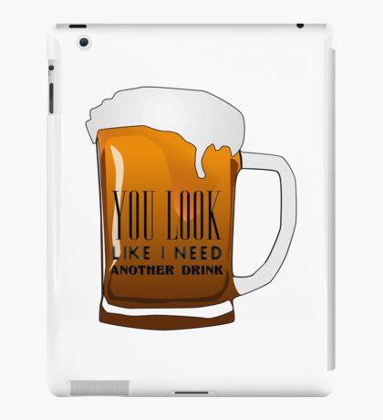 Funny Cool Flirting Pick Up Drunk Joking Design iPad Case/Skin
