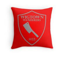 Wigtown Wanderers Throw Pillow