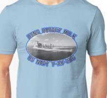 USNS HARVEY MILK USA NAVY OILER T-AO-206 Unisex T-Shirt