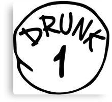 Drunk 1 Canvas Print