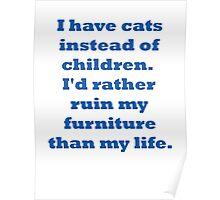 Cats vs Children Poster