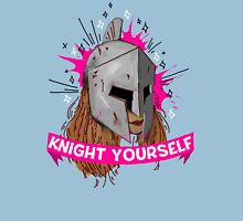 Be Your Own Knight in Shining Armor! Womens Fitted T-Shirt