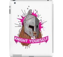 Be Your Own Knight in Shining Armor! iPad Case/Skin