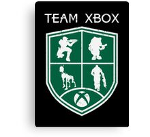 Team Xbox Canvas Print
