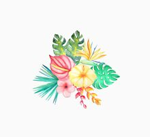 Tropical Watercolor Bouquet 6 Unisex T-Shirt
