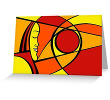 Sun with you Greeting Card