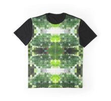 Bright Green Tiles Graphic T-Shirt