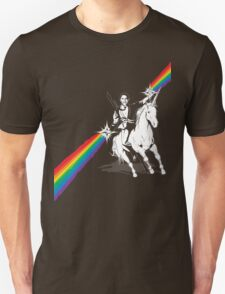 Obama Unicorn Rainbow Pride Unisex T-Shirt