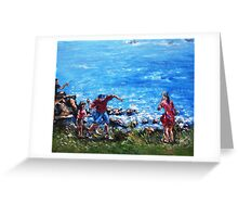 Ocean Fun Greeting Card