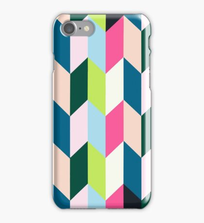 Playful lines iPhone Case/Skin