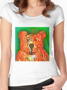 Teddy Bear Women's Fitted Scoop T-Shirt