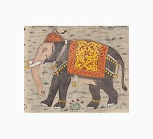 Vintage Decorated Elephant Painting (17th Century) Unisex T-Shirt