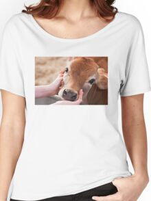 Cute Cow Women's Relaxed Fit T-Shirt