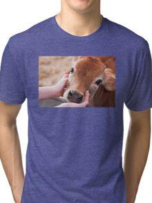 Cute Cow Tri-blend T-Shirt