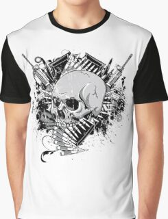 Vintage Skull Graphic T-Shirt