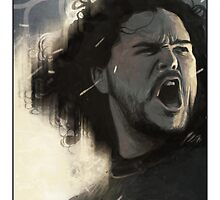 Game of Thrones - Jon Snow by mygrimmbrother