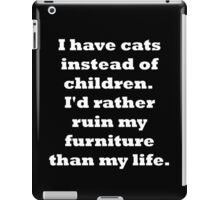 Cats vs Children #2 iPad Case/Skin