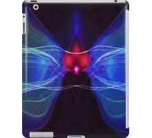 Blue Waves of Sound iPad Case/Skin
