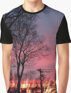 Winter Morning Sunrise  Graphic T-Shirt