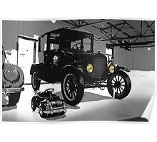 ford, ford 1925 vintage Poster