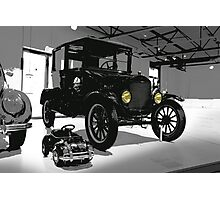 ford, ford 1925 vintage Photographic Print