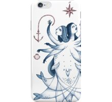 Two-faced Mermaid iPhone Case/Skin