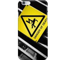 Danger of Death #2 | New Slant, Old Message iPhone Case/Skin