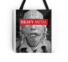 Heavy metal man piercings Tote Bag