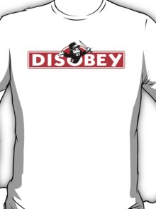 Monopoly Game Parody - Guy Fawkes Disobey T-Shirt