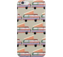 UK flag camper vans iPhone Case/Skin