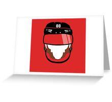 Playoff Beard Greeting Card